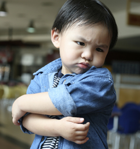 4. Asian boy Crossed arms