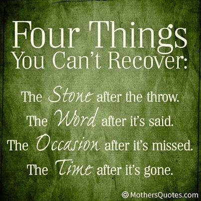 4 Thngs can't recover