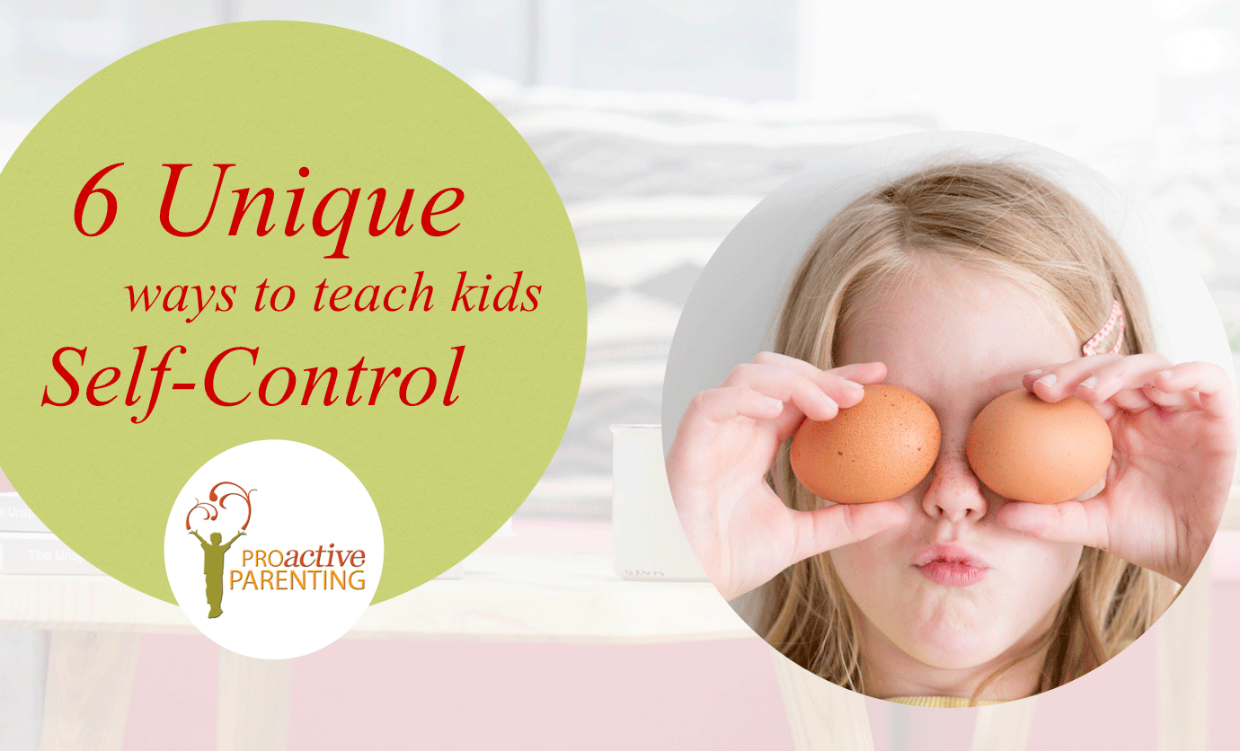 6 Unique Ways to Teach Kids Self-Control