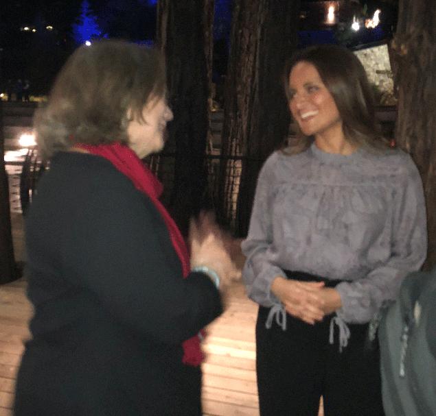 Dr. Shefali and Sharon Silver
